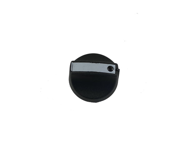 Broil King 10472K431 Main Burner Control Knob Black Resin