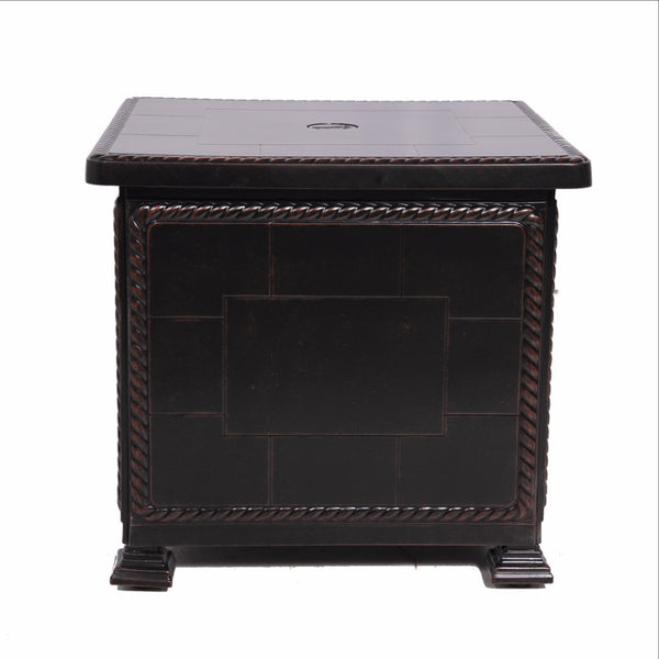 GENSUN CAST ALUMINUM STORAGE END TABLES