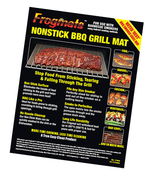 "Frogmats Non Stick Grilling Mat - 10"" x 13"""