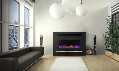 Napoleon Alanis Electric Fireplace Mantel Package | Barbecues Galore