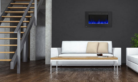 "Napoleon Allure 42"" Wallmount Electric Fireplace"