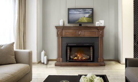 Napoleon Braxton Electric Fireplace Mantel Package | Barbecues Galore