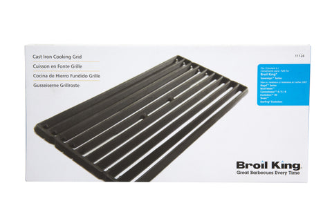 Broil King 11124 Cast Iron Replacement Cooking Grid | Barbecues Galore