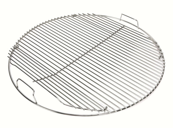 "Grill Care 22.5"" Round Hinged Stainless Steel Cooking Grate"