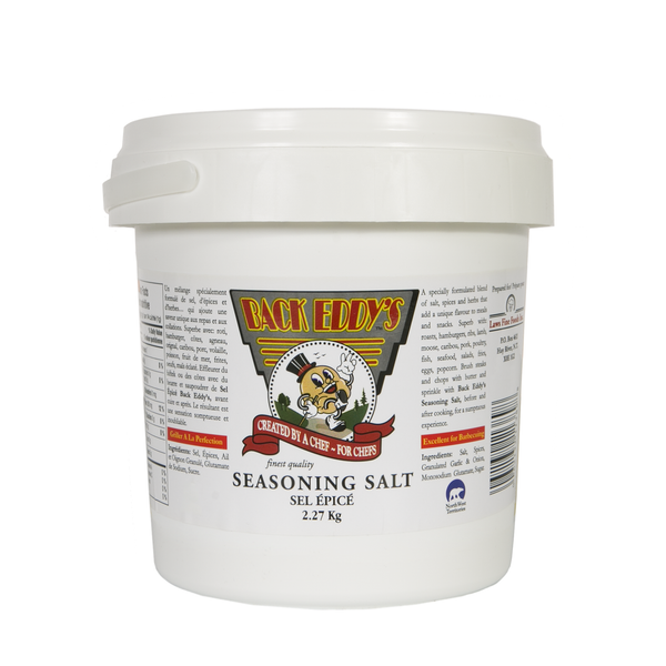 Back Eddys Seasoning Salt 2.27 KG | Available at Barbecues Galore: Burlington, Oakville, Etobicoke & Calgary.
