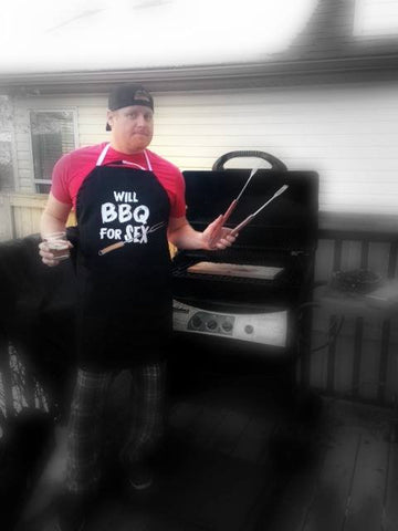 Novelty Grilling Apron - Will BBQ For Sex