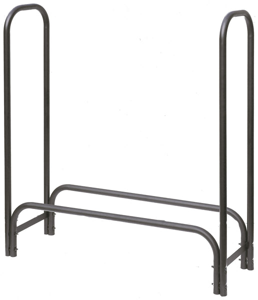 Hearth Pro Black Steel Log Rack