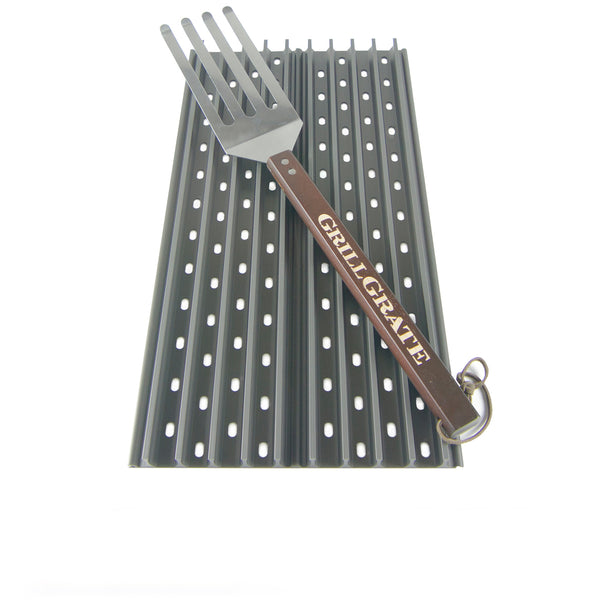 "Grill Grate 15"" Set w/Tool l Barbecues Galore"