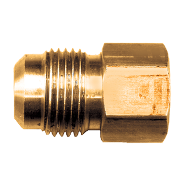 Brass Coupling - Male Flare to Female Pipe Thread