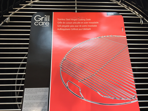 "Grill Care 22.5"" Stainless Steel Grill - 17436 