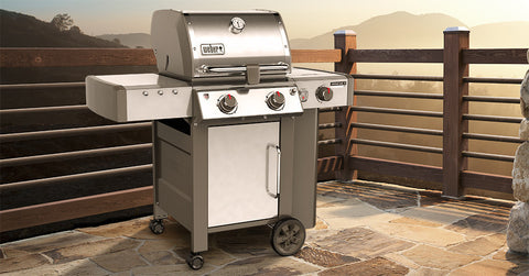 Weber Genesis II LX S-240 Natural Gas - 65004001 | Barbecues Galore