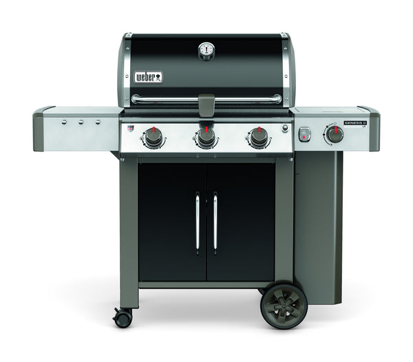 Weber Genesis II LX CSE-340 - Propane Model (view from straight on)