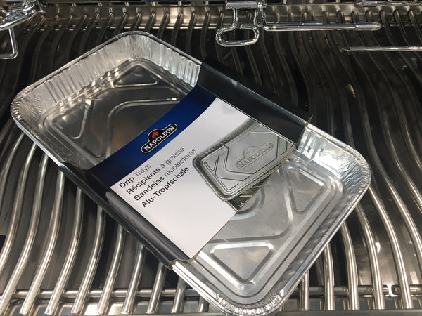 Napoleon 62008 Replacement Drip Pans | Available in-store and online with Barbecues Galore. Located in Burlington, Oakville, Etobicoke & Calgary. Shop for all of your BBQ, patio, accessory and parts needs.