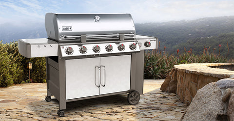 Weber Genesis II LX S-640 Natural Gas - 68004001 | Barbecues Galore