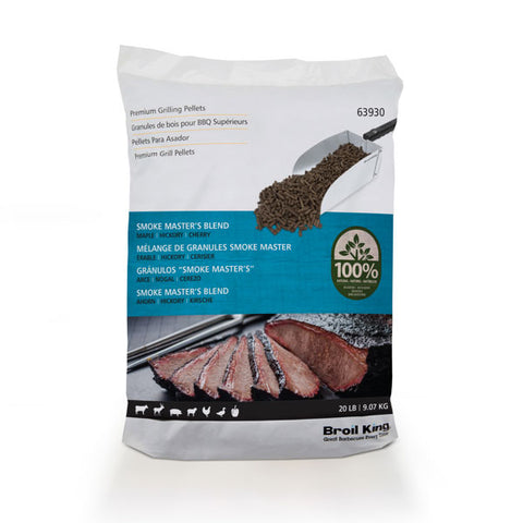 Broil King Pellets - Smoke Master's Blend - 20lb Bag