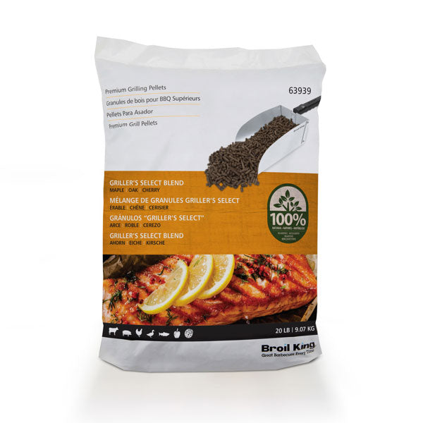 Broil King Pellets - Griller's Select Blend - 20lb Bag