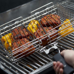 Broil King Deluxe Grill Basket In Action 65070
