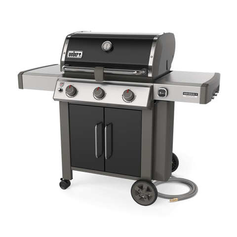 Weber Genesis II CSE-315 Natural Gas l Exclusive to just a few special dealers (us included, obviously), this bbq features 9mm stainless steel cooking grills and an included iGrill 3 thermometer | Pick one up exclusively at Barbecues Galore: Calgary, Alberta and Burlington, Oakville and Etobicoke, Ontario