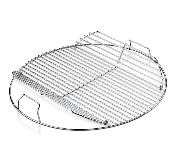 "Weber 7433 Replacement 18"" Kettle Hinged Cooking Grid 
