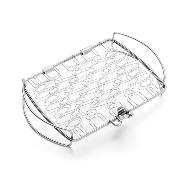 Weber Stainless Steel Fish Basket - Large | Barbecues Galore