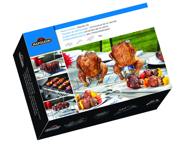 Napoleon Meat Lover's Starter Kit - 90001 | Barbecues Galore