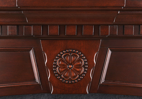 Napoleon Harlow Electric Fireplace Mantel Package