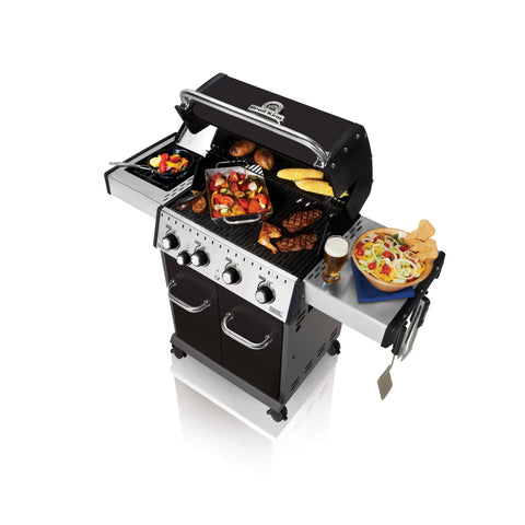 Broil King Baron 440 Natural Gas Grill With Side Burner | 922167