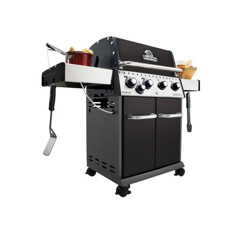 Broil King Baron 440 Propane Barbecue With Side Burner | 922164