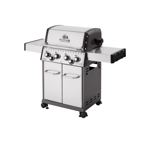 Broil King Baron S490 Stainless Steel Propane Barbecue | 922584