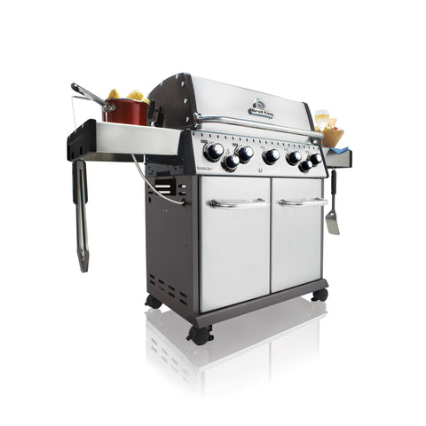 Broil King Baron S590 Natural Gas Barbecue - 923587 | Barbecues Galore