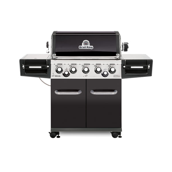 Broil King Regal 590 PRO - Natural Gas | 5 Burners with an additional side burner and rear burner.  Perfect for summer time BBQing.  | Barbecues Galore: Burlington, Oakville, Etobicoke & Calgary