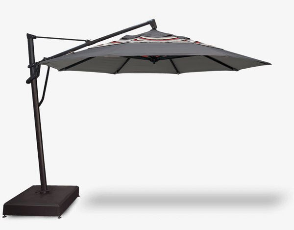 TREASURE GARDEN 11 FT PREMIUM PLUS OCTAGON CANTILEVER UMBRELLA