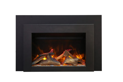 "Amantii Ambiance 30"" Insert Electric Fireplace 