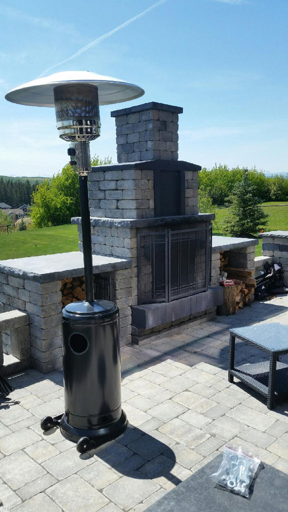 outdoor propane outdoors home heaters patio bfc pyramid ss hampton compressed depot bay btu gas stainless heating a heater n the steel flame b