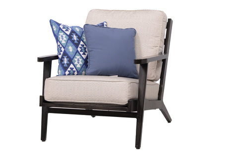 Plank & Hide Adeline Deep Seating Set - Linen Silver