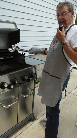 Al Paquette and his Broil King Baron S490
