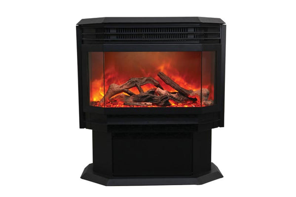 Sierra Flame By Amantii Freestanding Electric Fireplace | Barbecues Galore: Burlington, Oakville, Etobicoke & Calgary