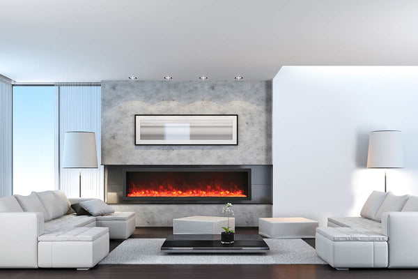 Amantii Panorama Series BI88-DEEP-XT Electric Fireplace