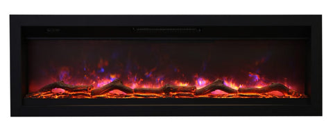 "Amantii Ambiance 50"" In-Wall Electric Fireplace l Barbecues Galore"
