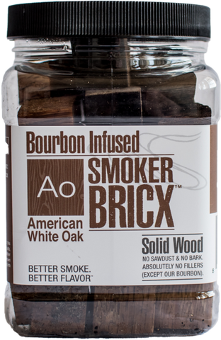 Bourbon Infused Smoker BRICX