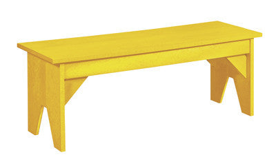 CRP Basic Backless Bench - Yellow