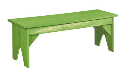 CRP Basic Backless Bench - Kiwi Green