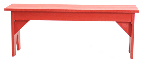 CRP Basic Backless Bench - Red