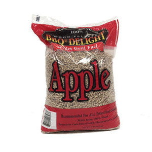 BBQr's Delight Apple Wood Pellets - 20 lb