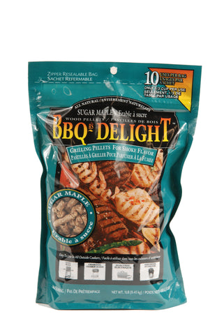 BBQr's Delight Sugar Maple Pellets