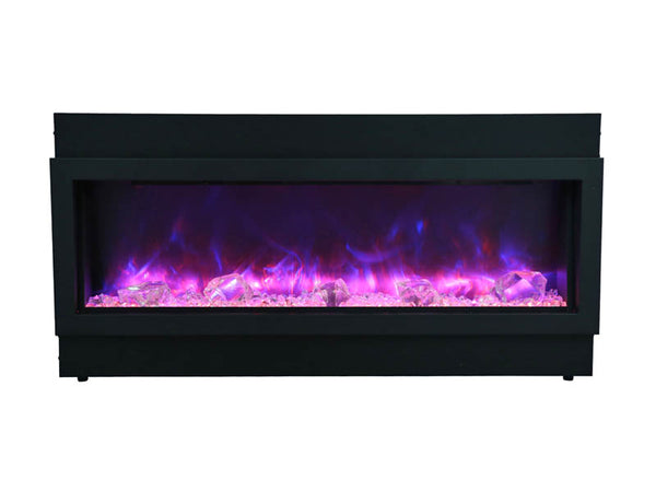 Amantii Panorama Series BI40-SLIM Electric Fireplace
