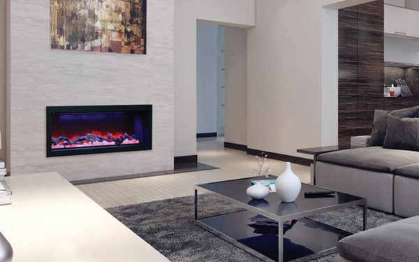 "Amantii Panorama Series Electric Fireplace - 50"" / Deep"