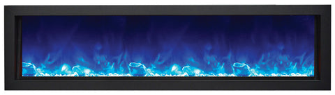 Amantii Panorama Series BI60-DEEP with blue light and glass media