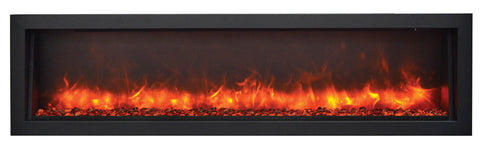 Amantii Panorama Series BI60-SLIM Electric Fireplace
