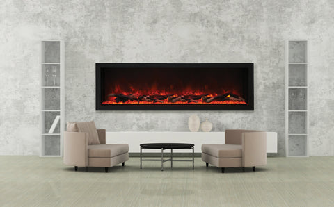 Amantii Panorama Series BI72-DEEP-XT Electric Fireplace